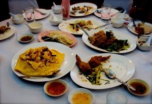 Sanguan Ying School welcome dinner feast!