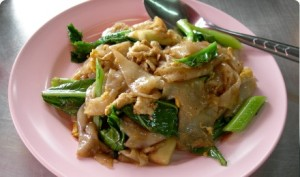 Pad See Ew. Delicious!! But maybe not so nutritious.