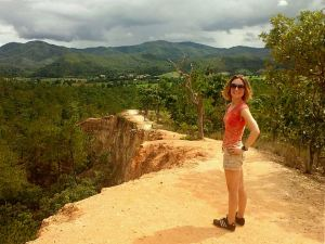 Pai Canyon hike - the first time Thailand has reminded me of Colorado!