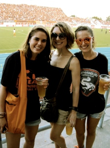 Cheering for Suphanburi FC!