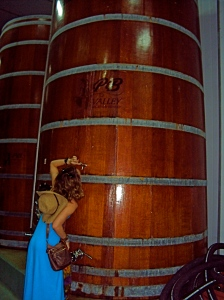 "According to our guide, ""If you drank a bottle per day with your father, it would take you 32 years to finish this barrel."" Up for the challenge, Dr. Z?"