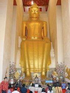 Buddha in Wat Pa.
