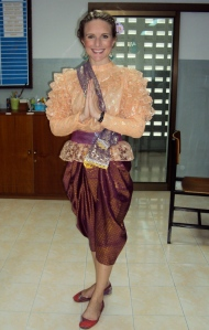 Dressed up for Thai National Language Day!
