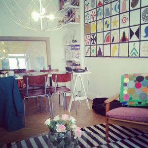 Our apartment in Stockholm. Love.